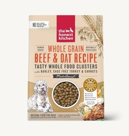 HONEST KITCHEN Whole Grain Beef & TurkeyClusters