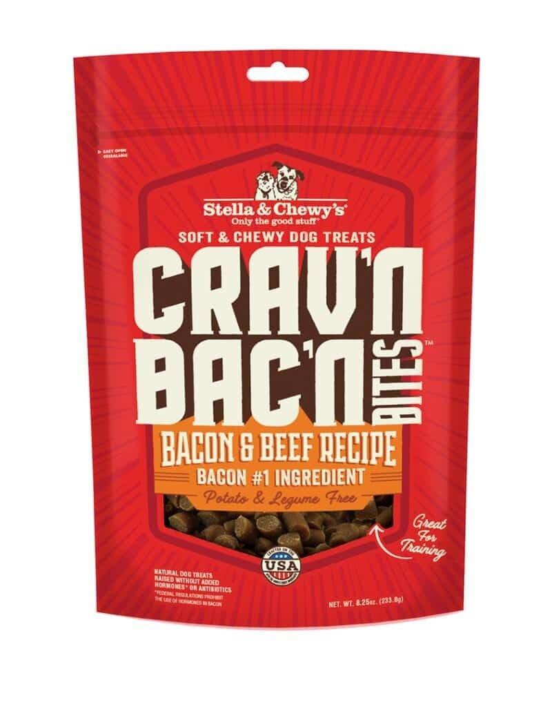 STELLA & CHEWY'S Crav'n Bac'n  Bites Beef