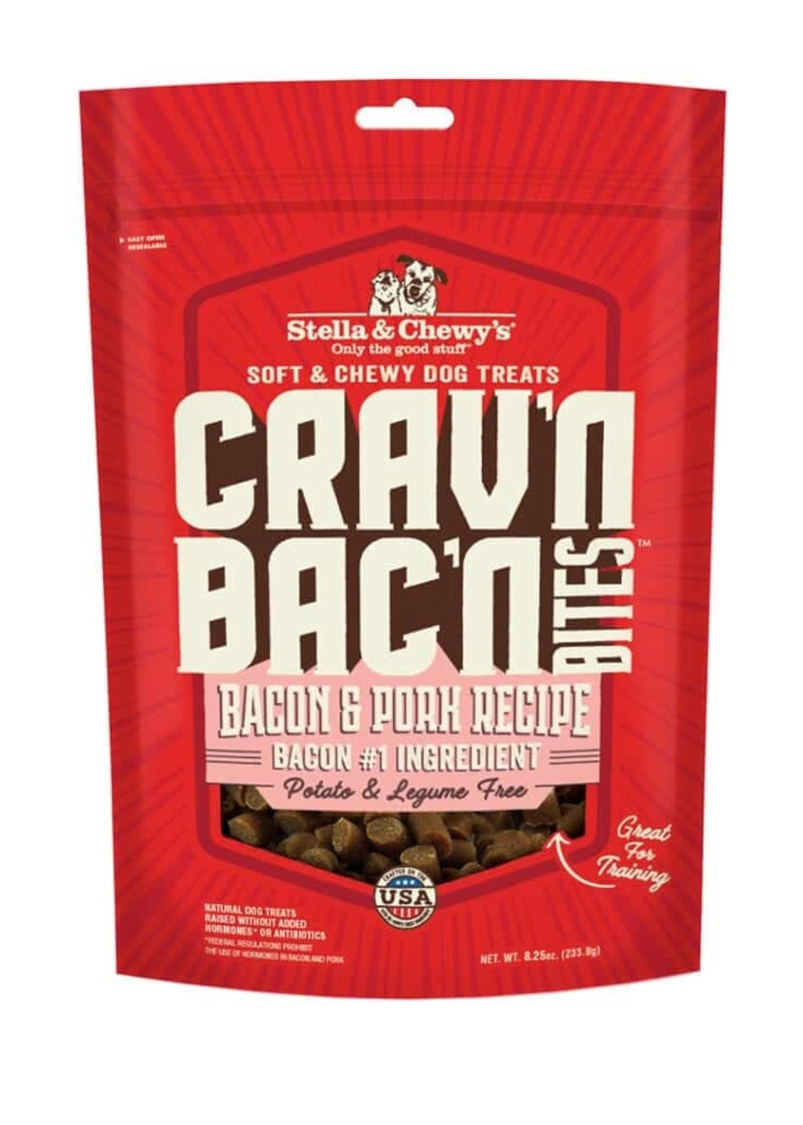 STELLA & CHEWY'S Crav'n Bac'n  Bites Pork