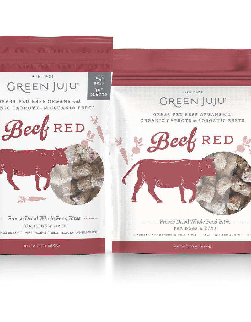 GREEN JUJU Beef Freeze-dried Bites