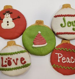 LEAPS & BONES Holiday Ornament Biscuits