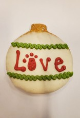LEAPS & BONES HOLIDAY ORNAMENT BISCUIT