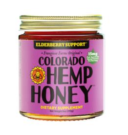 COLORADO HEMP HONEY ELDERBERRY  6OZ JAR