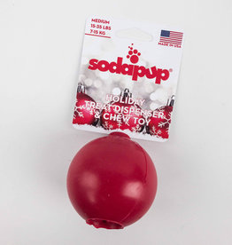 SODAPUP Holiday Treat Dispenser/Chew Toy