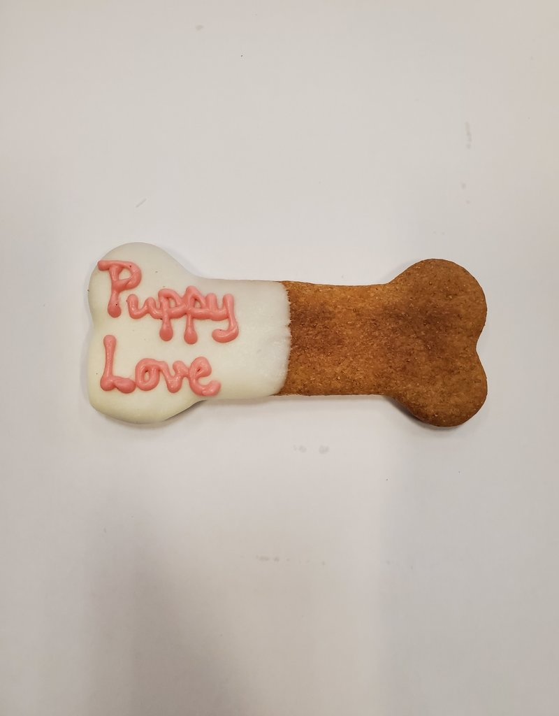 LEAPS & BONES Valentine Day PB Bones Biscuit