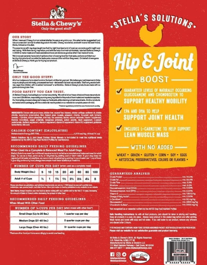 STELLA & CHEWY'S Freeze - Dried Hip & Joint Supplement