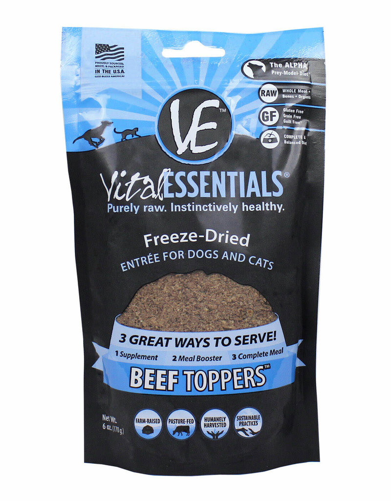 VITAL ESSENTIALS TOPPERS BEEF
