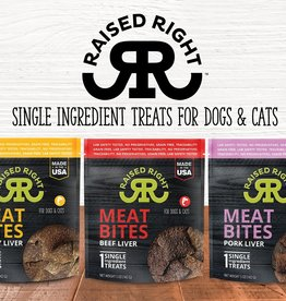 Raised Right Liver Bites treats