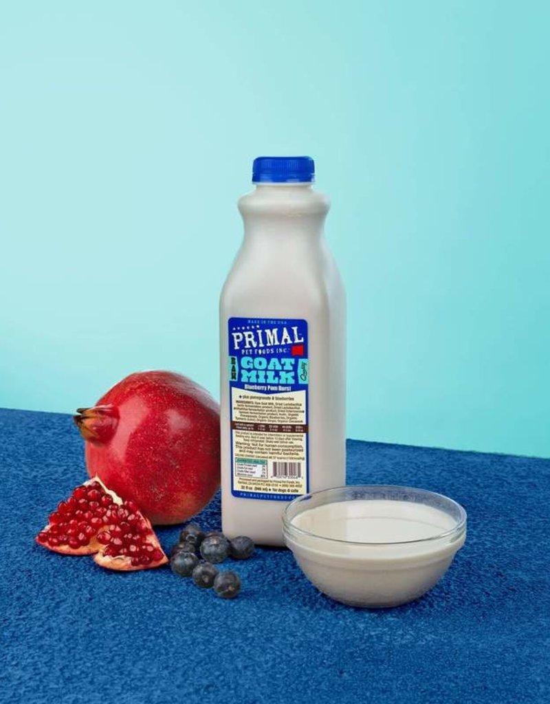 PRIMAL Goat Milk Plus 32oz Blueberry Pom Burst