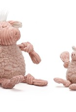 HUGGLEHOUNDS Flufferknots Pig