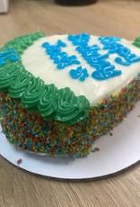 LEAPS & BONES Blue's Berry Party Hat Cake