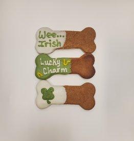 LEAPS & BONES St. Patricks Day Peanut Butter Bones