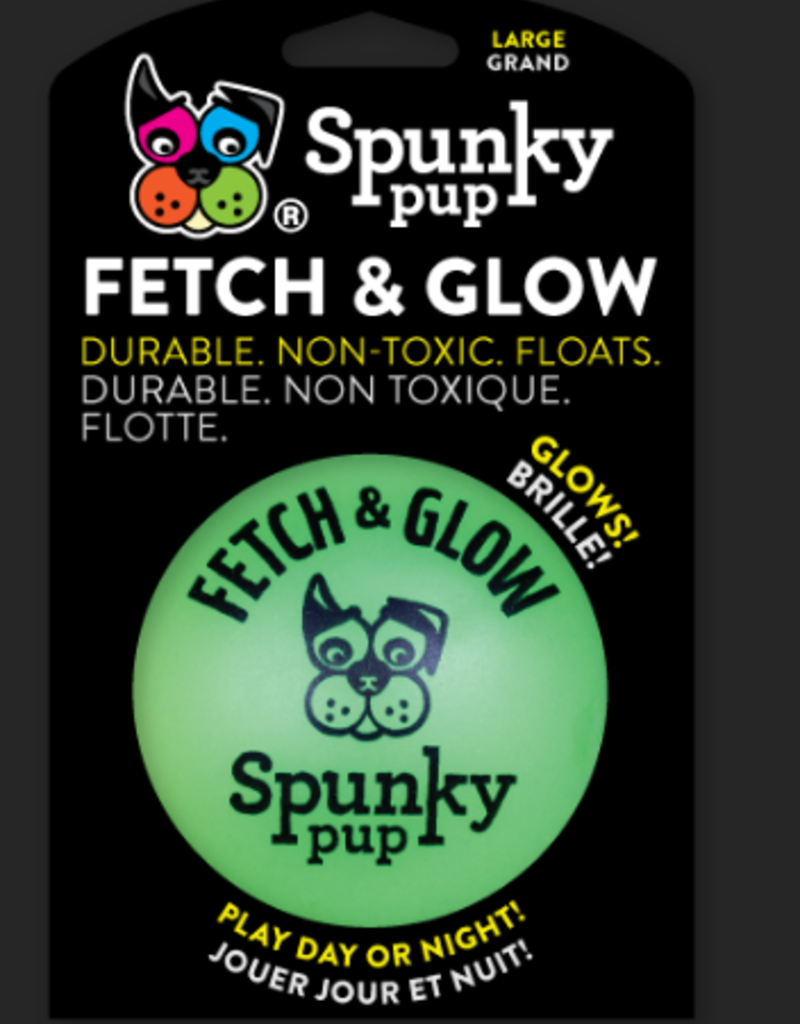 Spunky Pup Glow & Fetch Ball