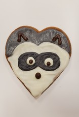 LEAPS & BONES Charity Biscuit CT Wildlife Rescue Raccoon