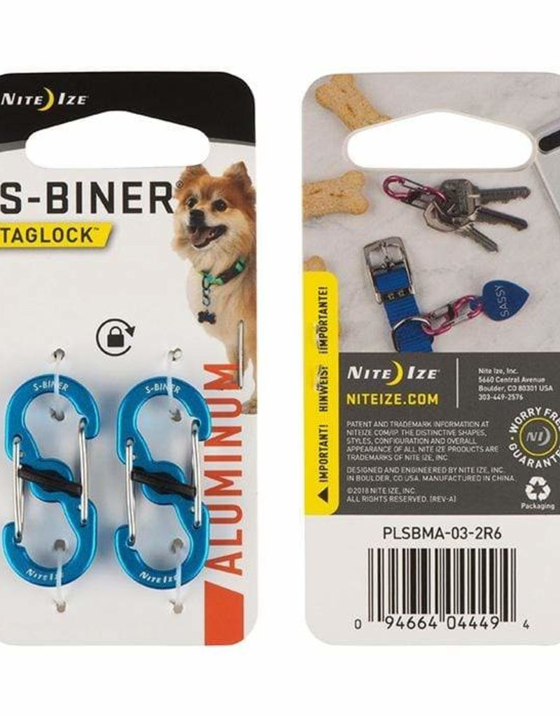 NITE IZE S-Biner TagLock 2 pack