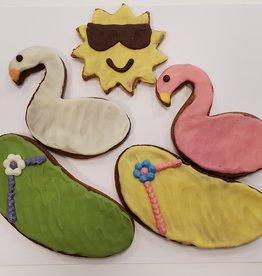 LEAPS & BONES Pool Fun Biscuit