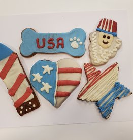 LEAPS & BONES 4th of July Biscuit
