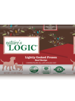 NATURE'S LOGIC Lightly Cooked Beef 1.5#