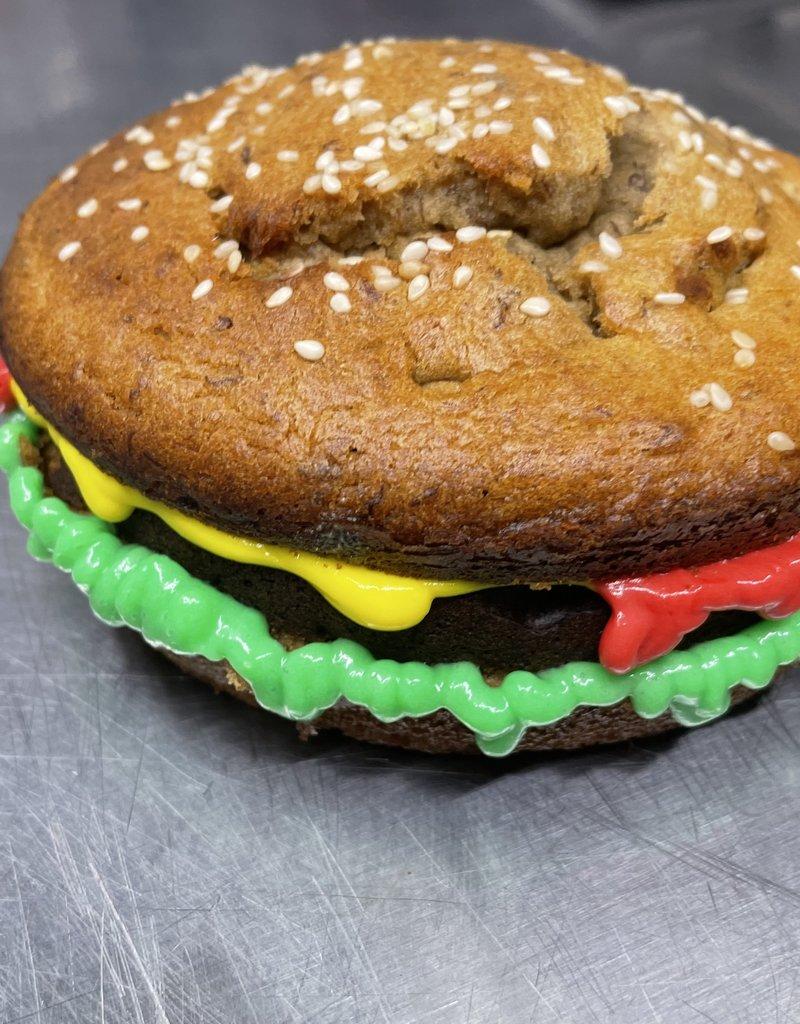 LEAPS & BONES Hamburger Cake