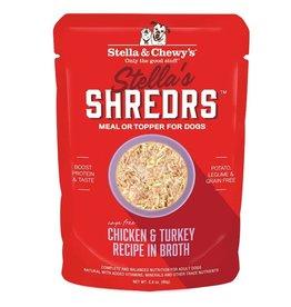 STELLA & CHEWY'S Shredrs Chicken & Turkey 2.8oz