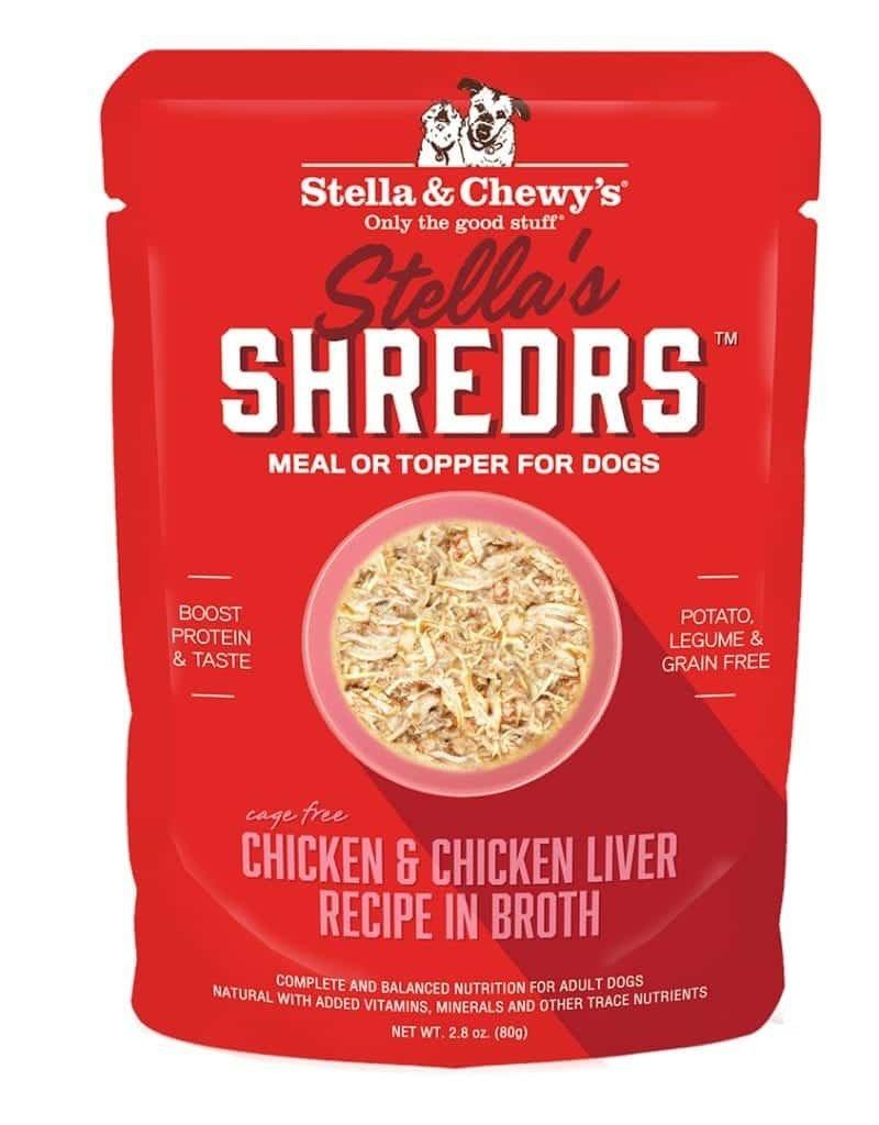 STELLA & CHEWY'S Shredrs Chicken & Chicken Liver 2.8oz