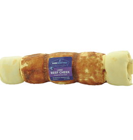 BARKWORTHIES Cheek Roll Chicken Wrapped Large