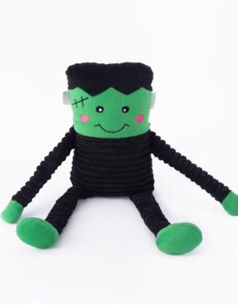 ZIPPY PAWS Halloween crinkle frankenstein monster