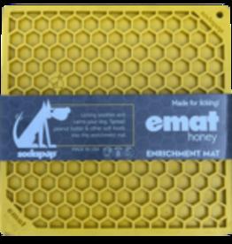 SODAPUP Honeycomb Licking Mat yellow LRG