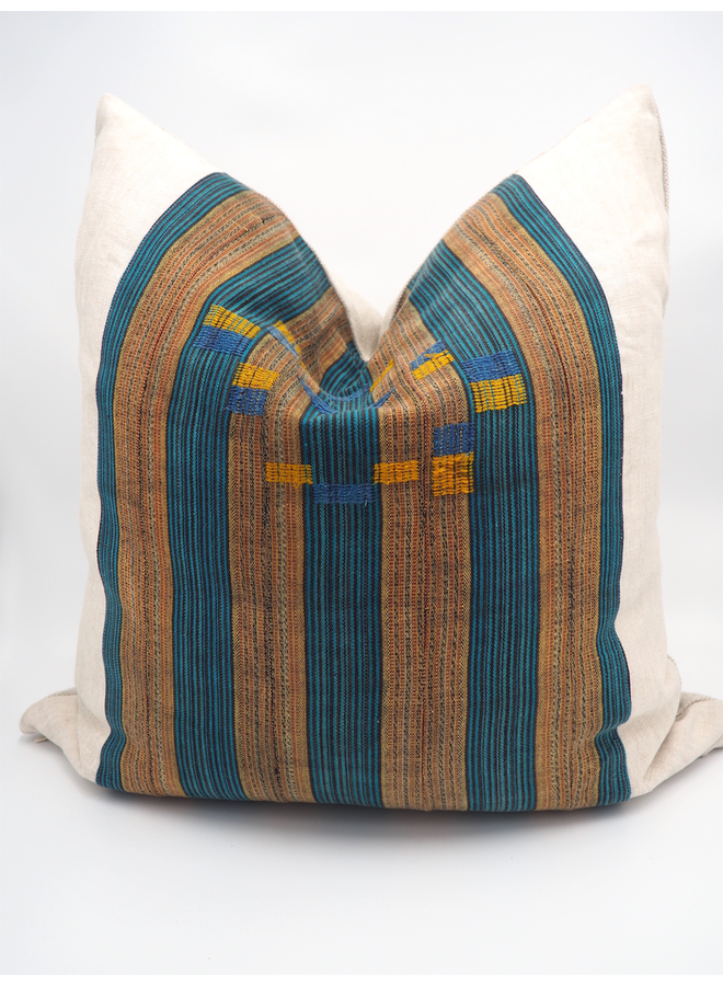 """VINTAGE AFRICAN PILLOW  23"""" X 23"""""""