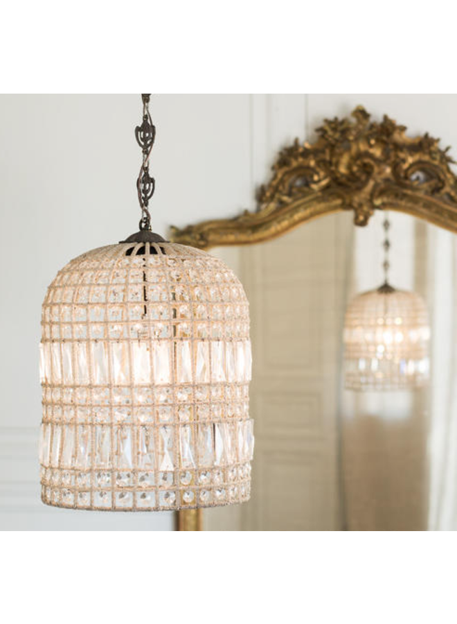 BIRDCAGE CHANDELIER LARGE