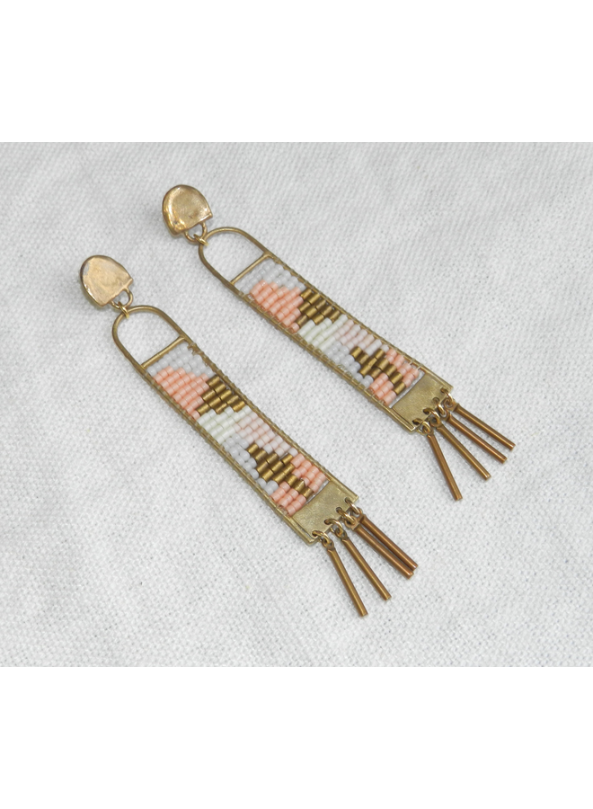 MINARET EARRINGS DESERT