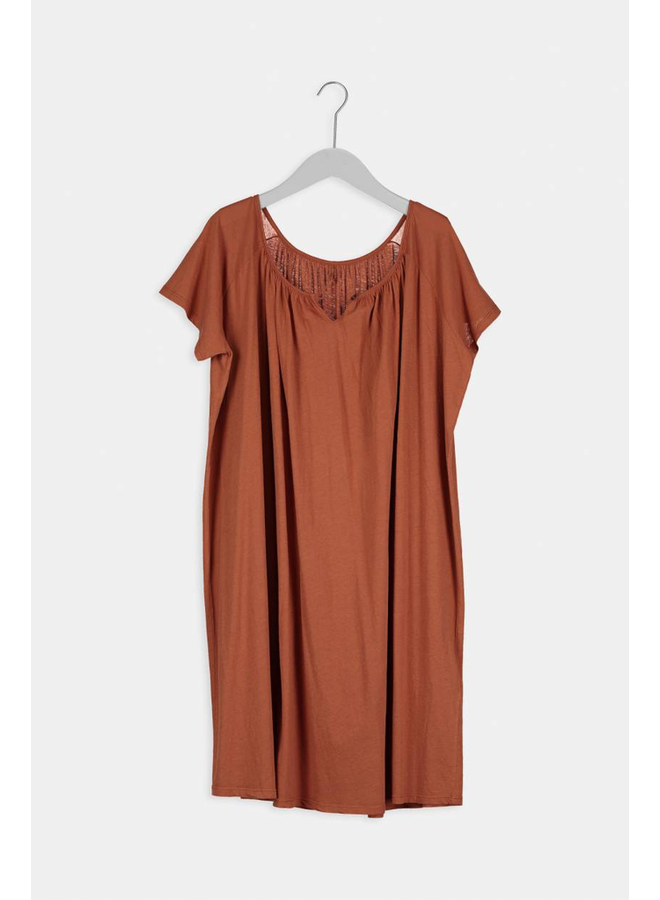 BELL SLEEVE WHIN DRESS