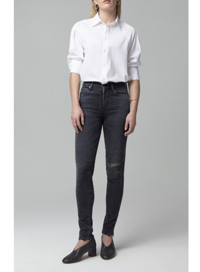 ROCKET MID RISE SKINNY IN LITHE