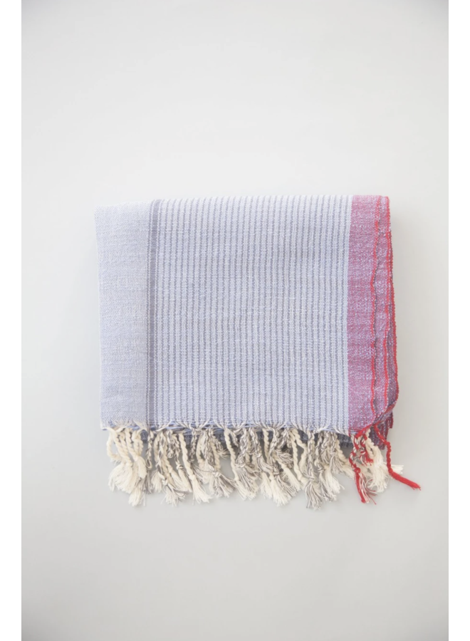HAND LOOMED, TURKISH COTTON SIENNA TOWEL, LILAC