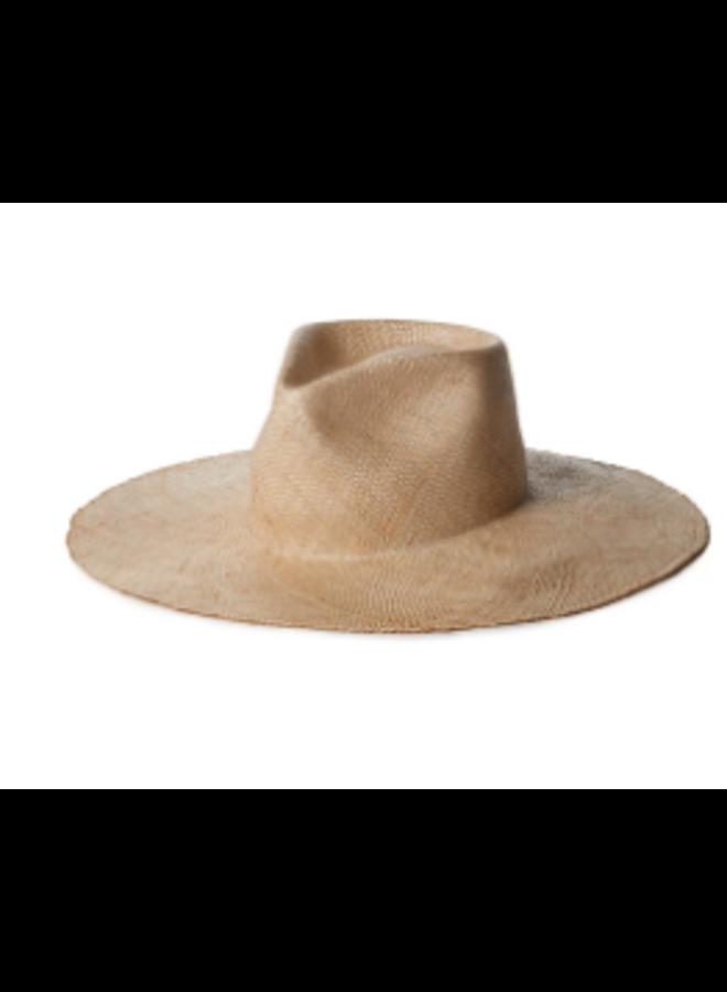 MISHA NATURAL BAO STRAW HAT