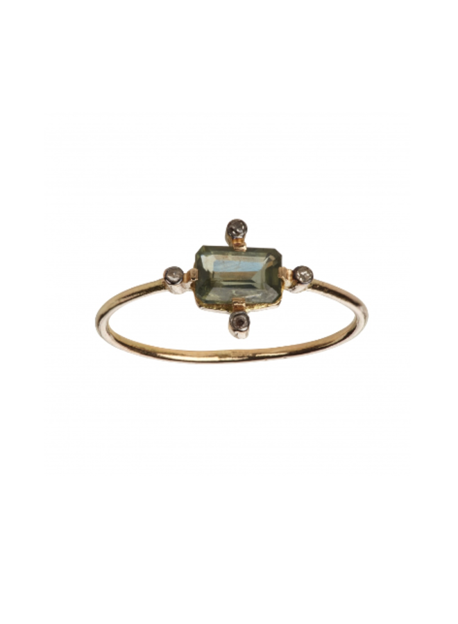 BAGUE BLUES RING