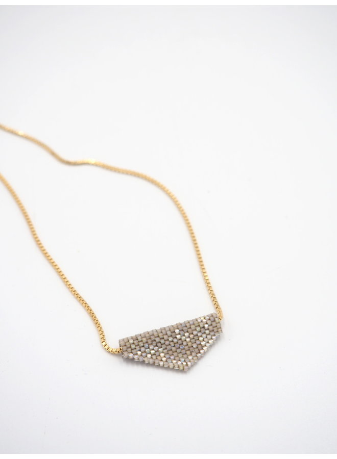 NECKLACE SERPENT TRIANGLE