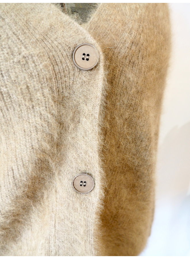 CASHMERE BUTTON UP CARDIGAN SWEATER