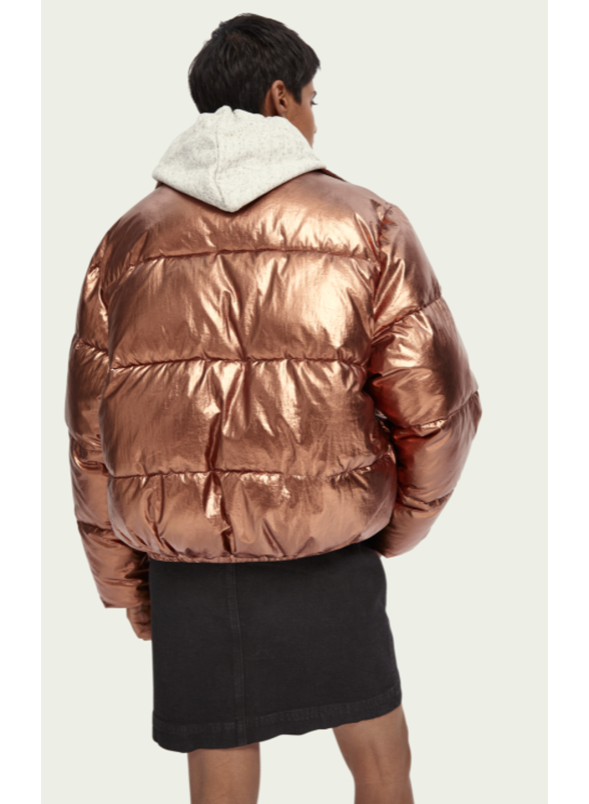 PADDED METALLIC JACKET