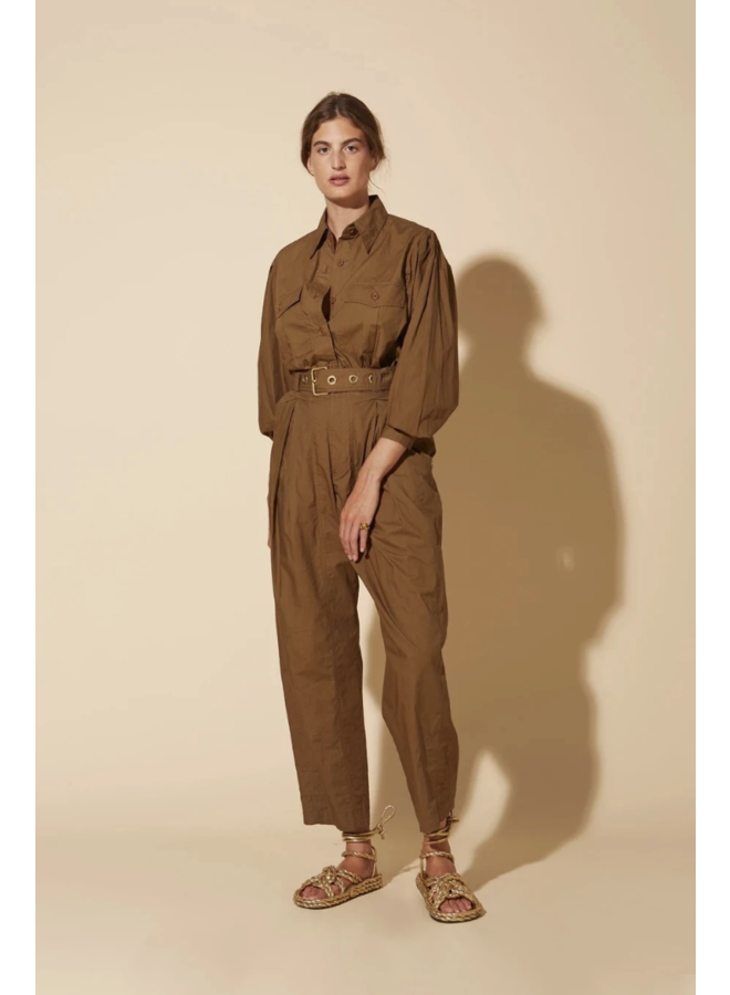 MILITAIRE FOREST BLOUSE