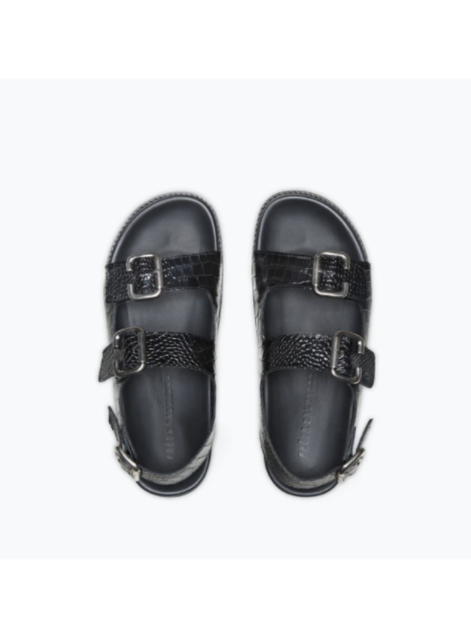 PIPER BUCKLE FOOTBED SANDAL