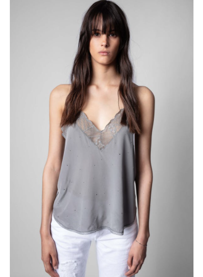 CHRISSY STRASS IN GRIS