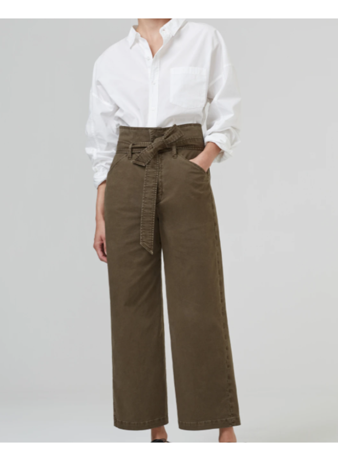 LOUVELLE BELTED WIDE LEG