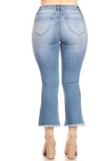 button jean