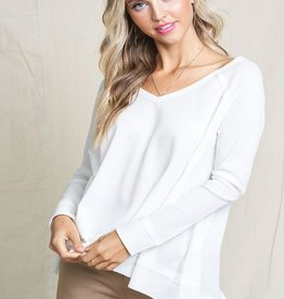 v neck thermal