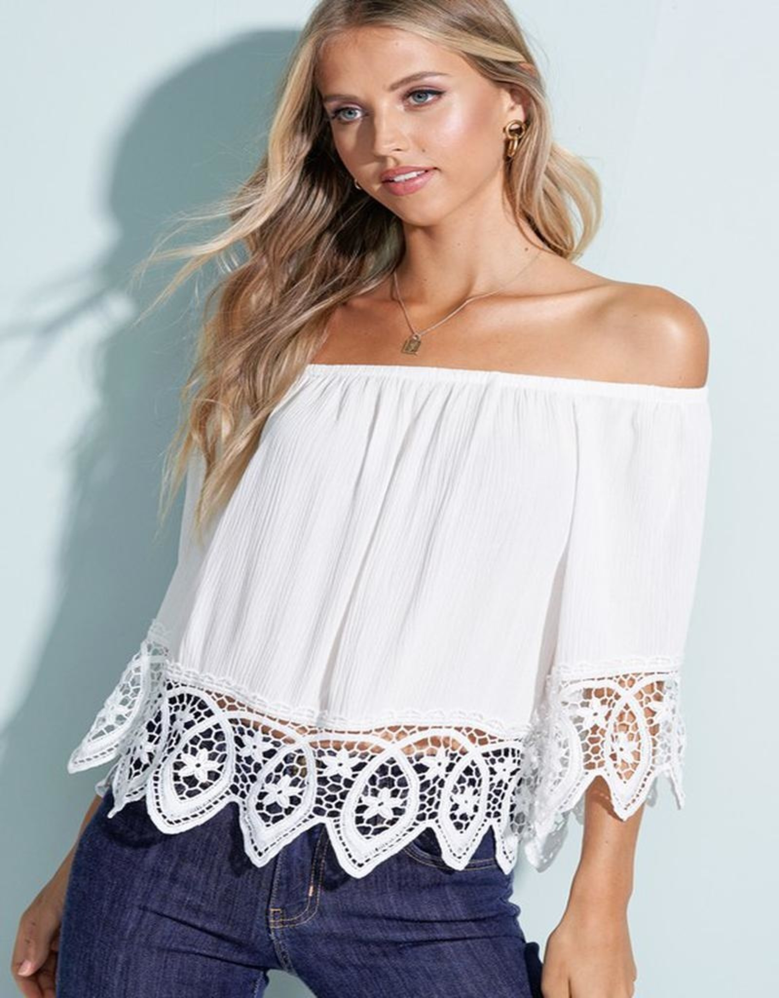 lace off shoulder