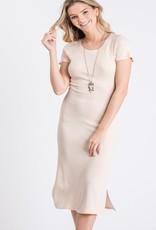 Thermal midi dress