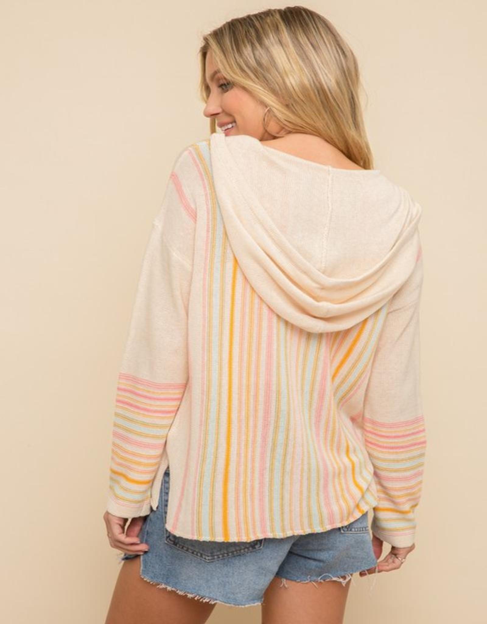 multi color sweater