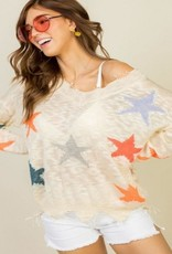 multi star sweater