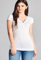notch collar tee